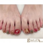 (coco)Autumn☆foot nail